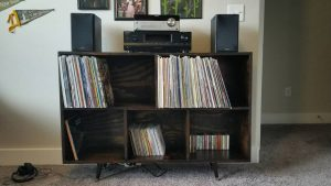 Another shot, for posterity, of my shelf with records